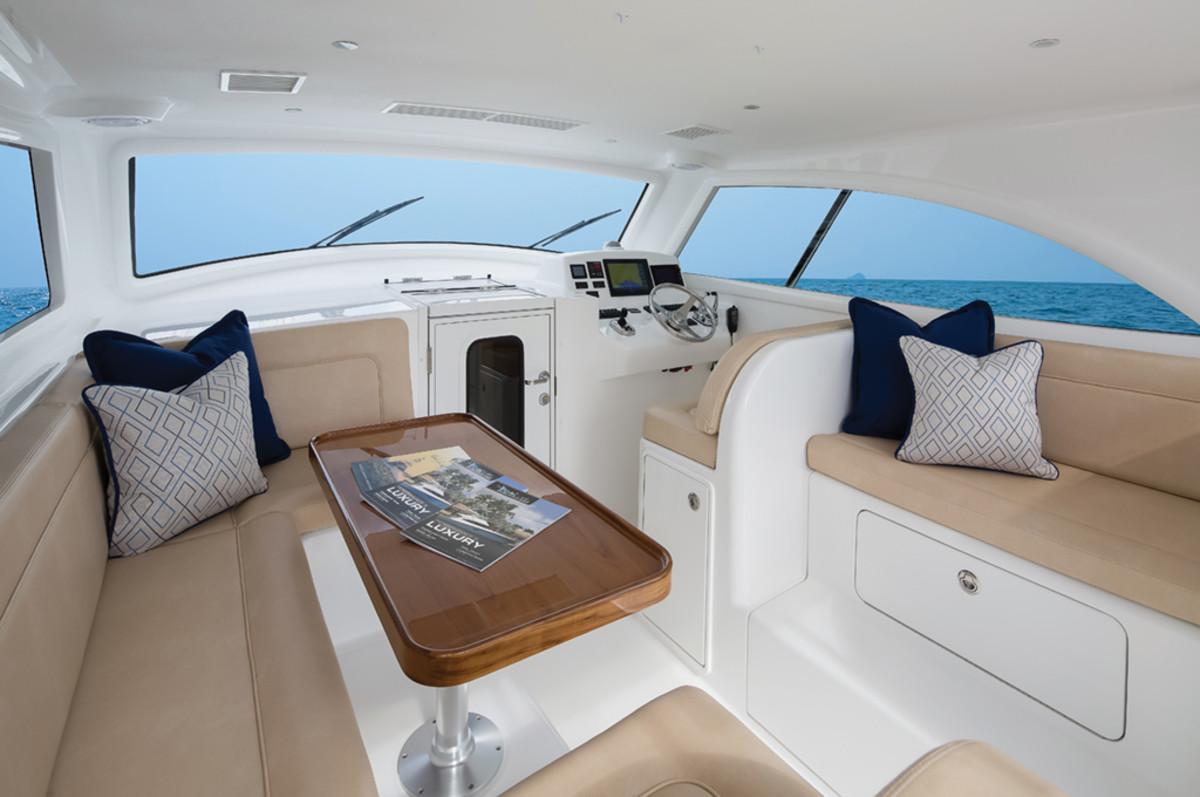 Viking 37 Billfish interior