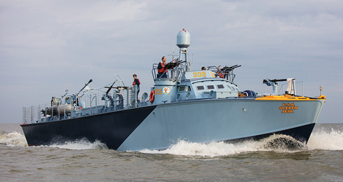 Refitting a World War II PT Boat - Power & Motoryacht