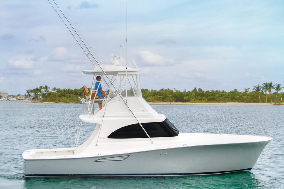 Viking 37 Billfish - profile