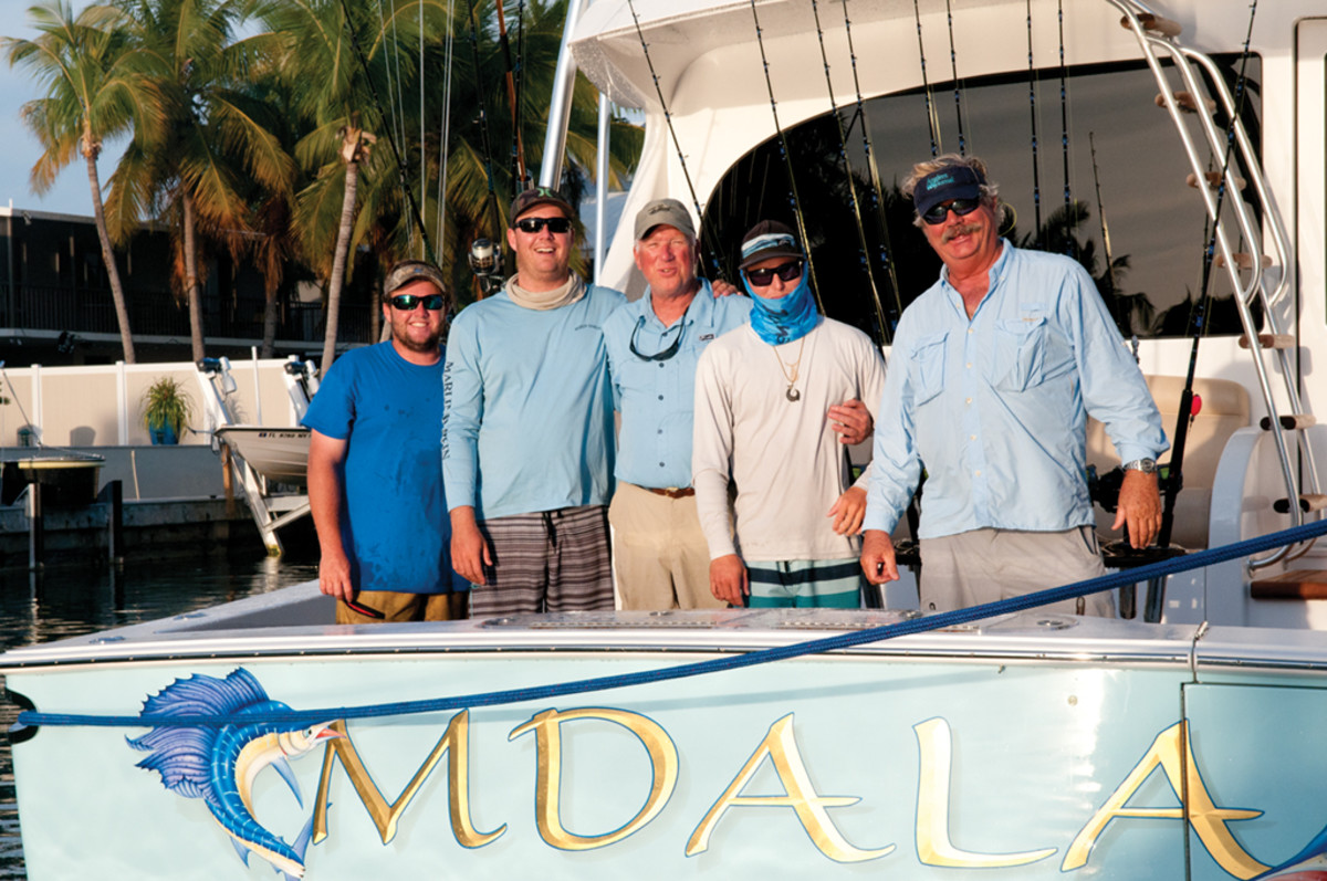 Sportfishing team