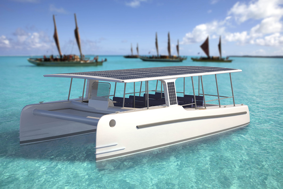 The 39-foot SoelCat 12 can hold up to 18 passengers