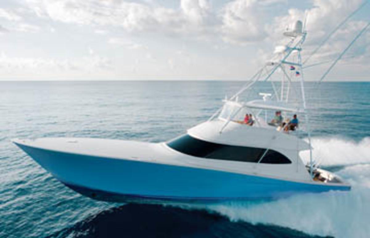 Viking 70 Convertible Power Amp Motoryacht
