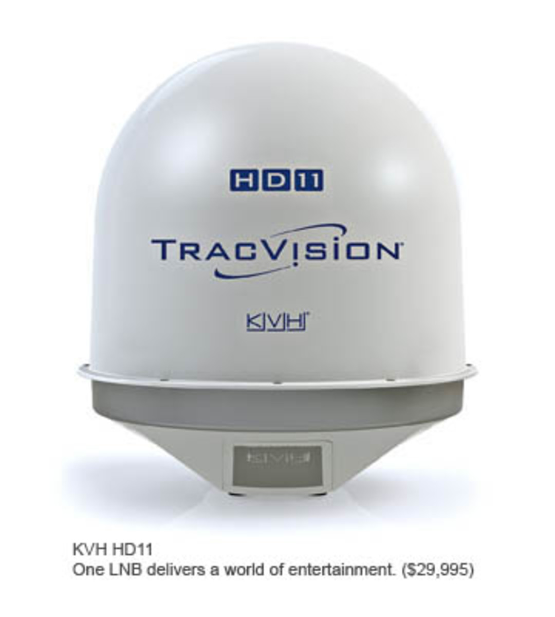 KVH HD11 TracVision Satellite TV System