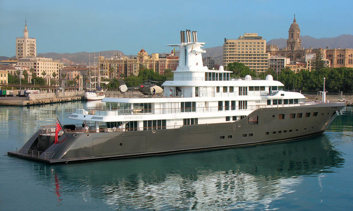 Click to enlarge image - Megayacht Ice