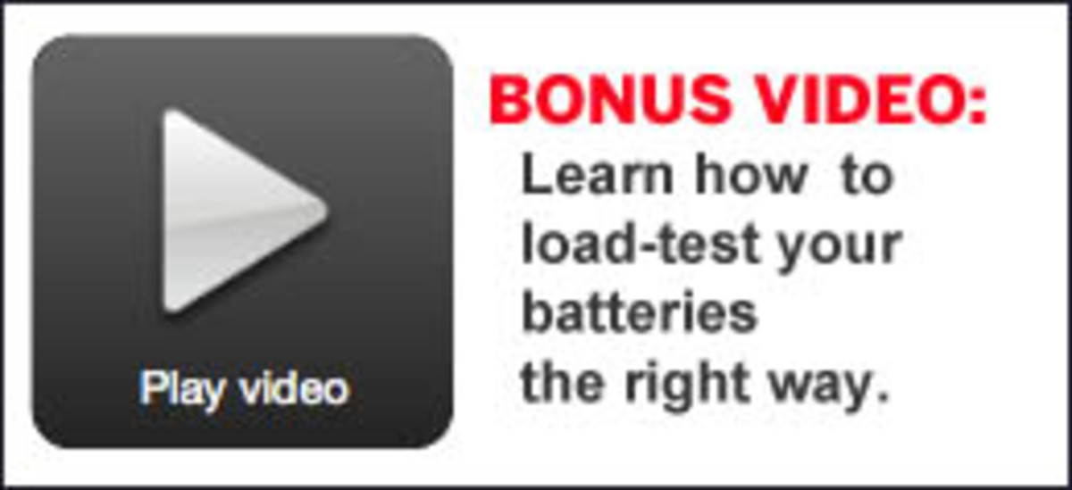 Bonus Video: Learn how to load-test your batteries the right way.