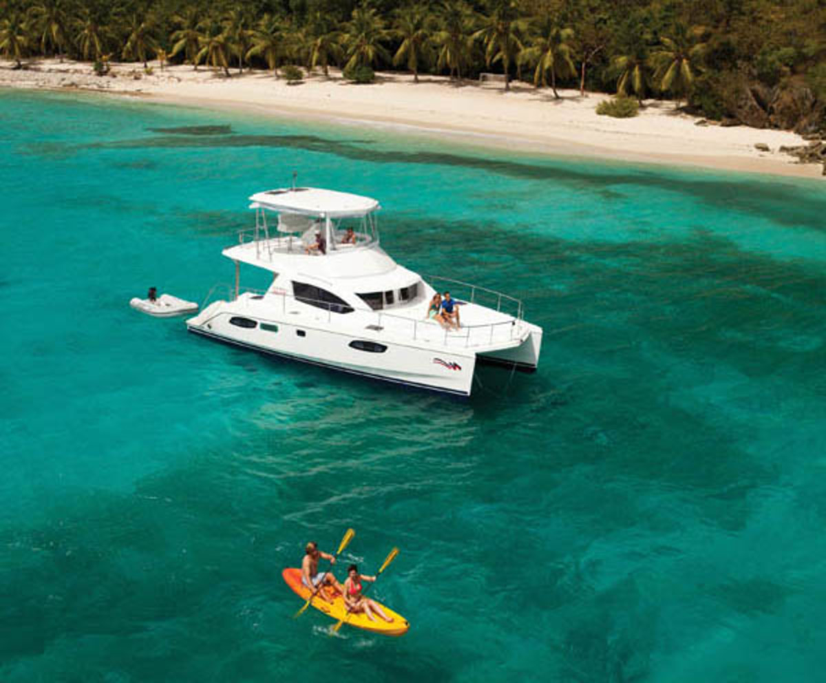 Charter yacht in the BVI