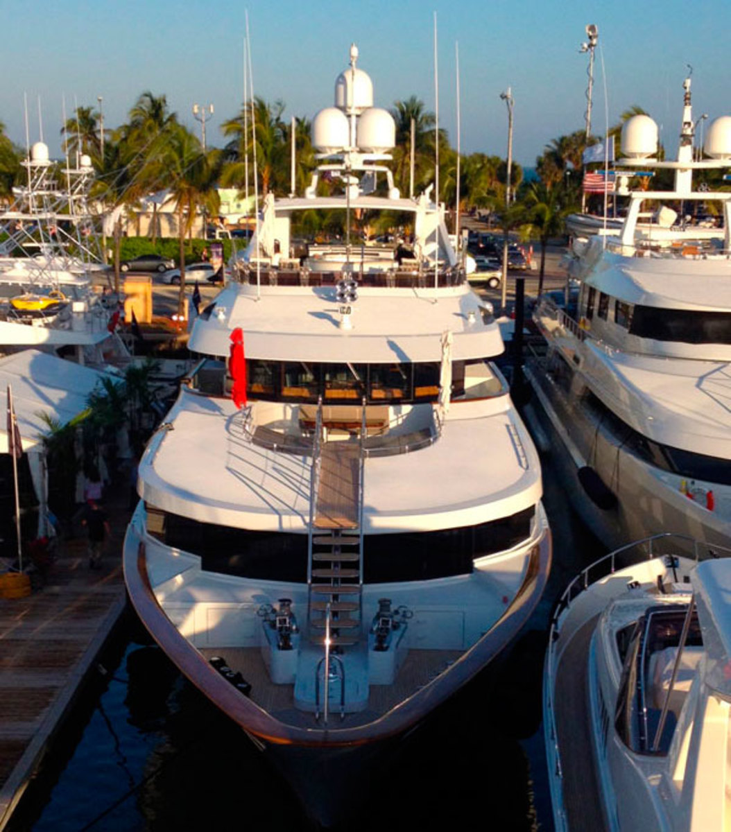 Miami Yacht & Brokerage Show 2013