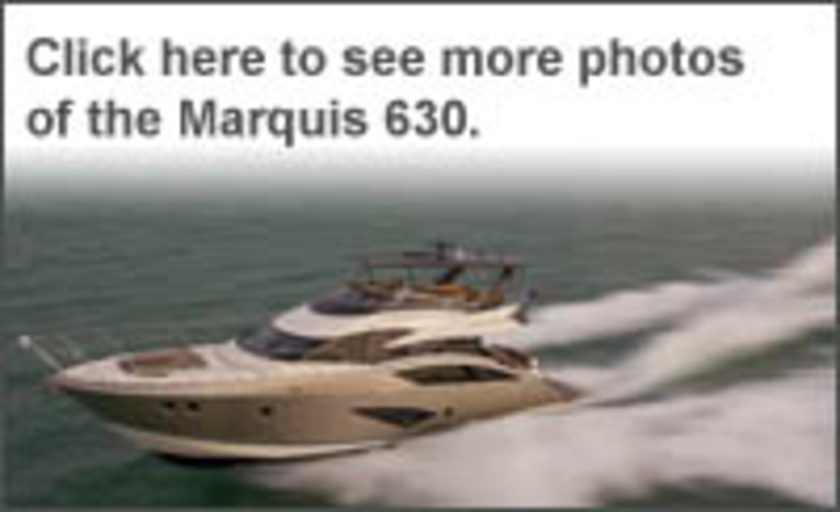 Click here to see more photos of the Marquis 630 Sport Yacht