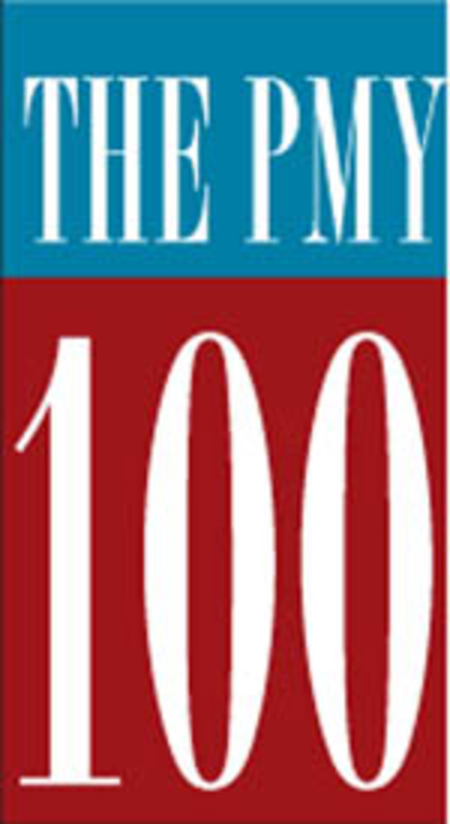 The PMY 100 - World's Largest Yachts logo