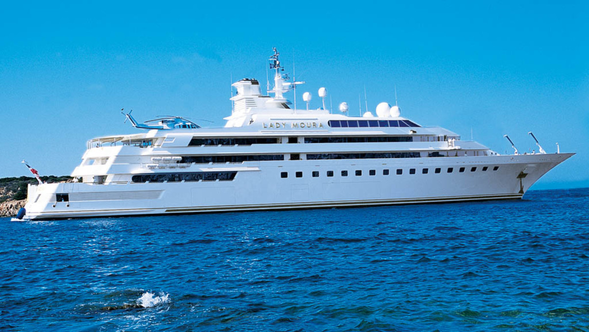 Click to enlarge image - Megayacht Lady Moura