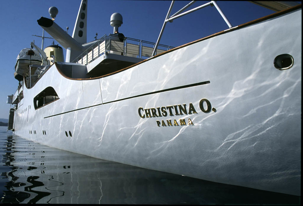 Click to enlarge image - Megayacht Christina O