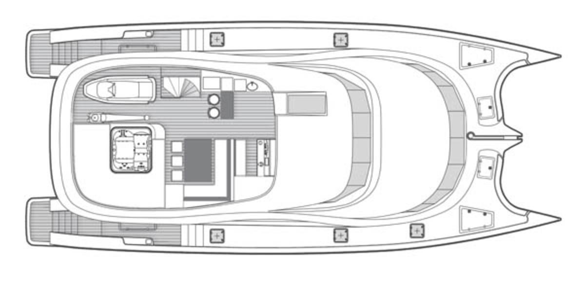 Sunreef 70 layout diagram