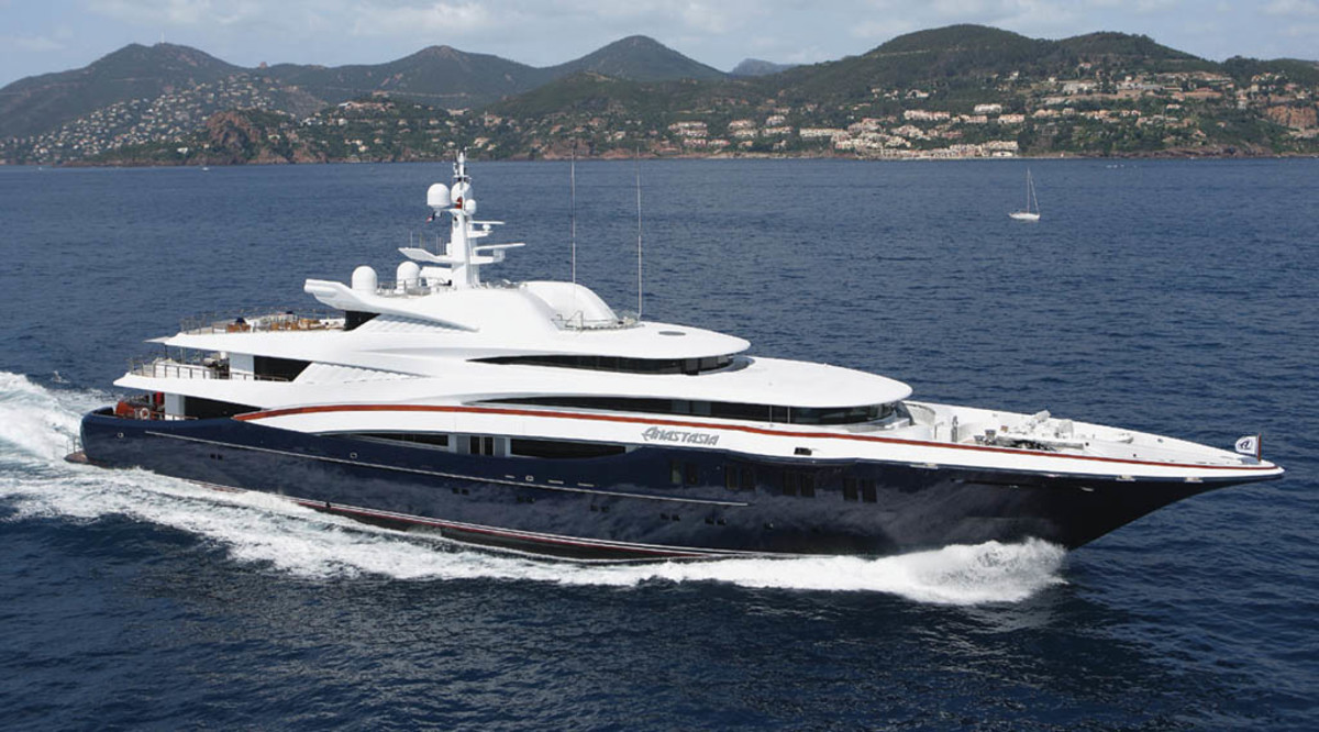 Click to enlarge image - Megayacht Anastasia