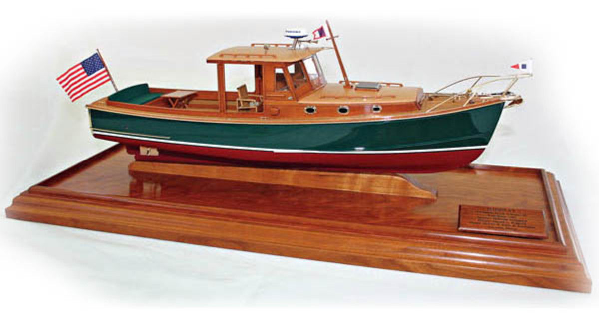 Downeast Yacht Model