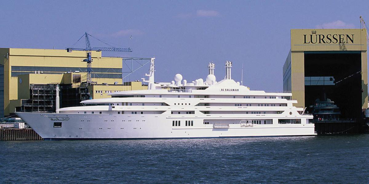 Click to enlarge image - Megayacht Al Salamah