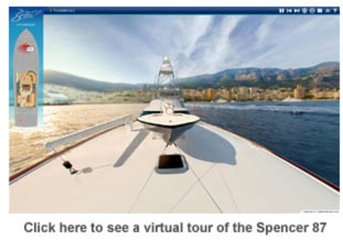 Click here to see a virtual tour of the Spencer 87