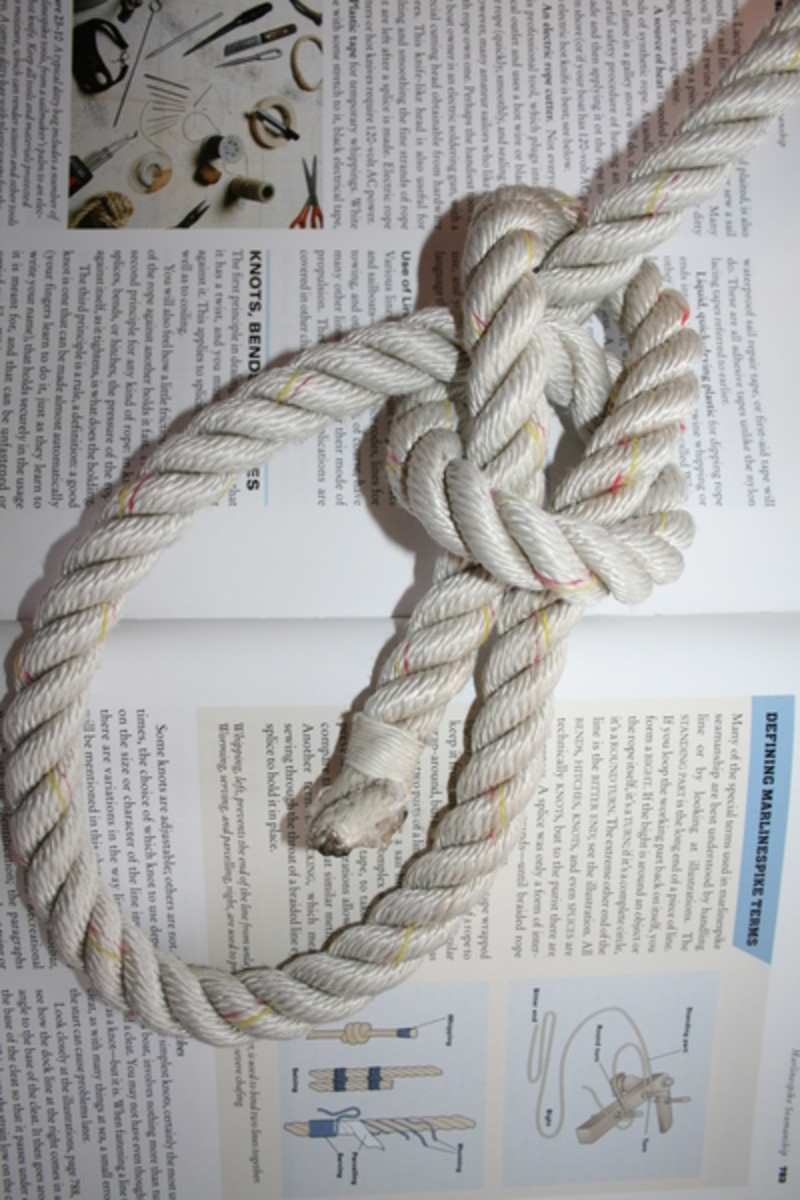 How to tie a bowline like a pro power motoryacht the rather erudite chapman piloting seamanship describes the bowline as the most used knot onboard the typical recreational boat ccuart Images