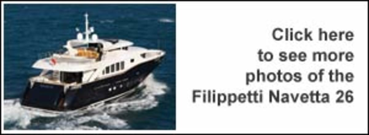 Click here to see more photos of the Filippetti Navetta 26