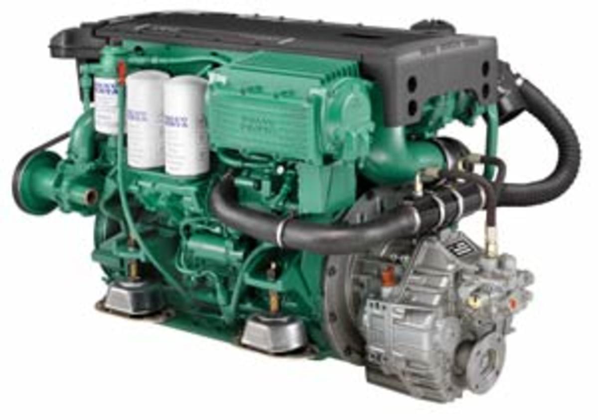 Inboard Volvo D6 Diesels