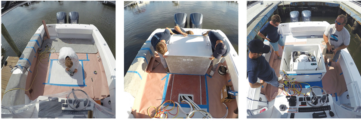 Installing a Seakeeper Gyro Stabilizer on a Center Console