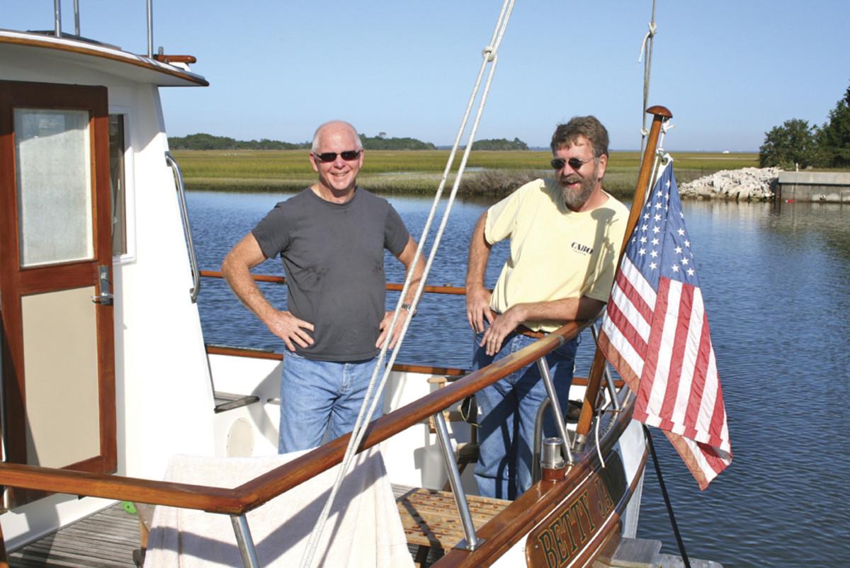 Capts. Richard Thiel and Bill Pike