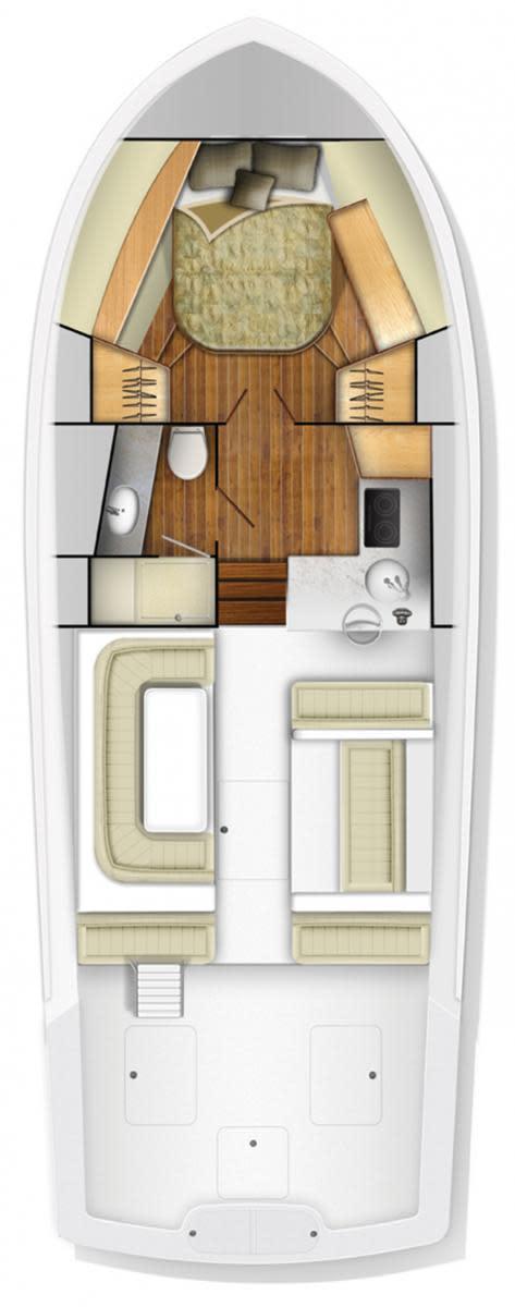 Viking 37 Billfishj layout diagram