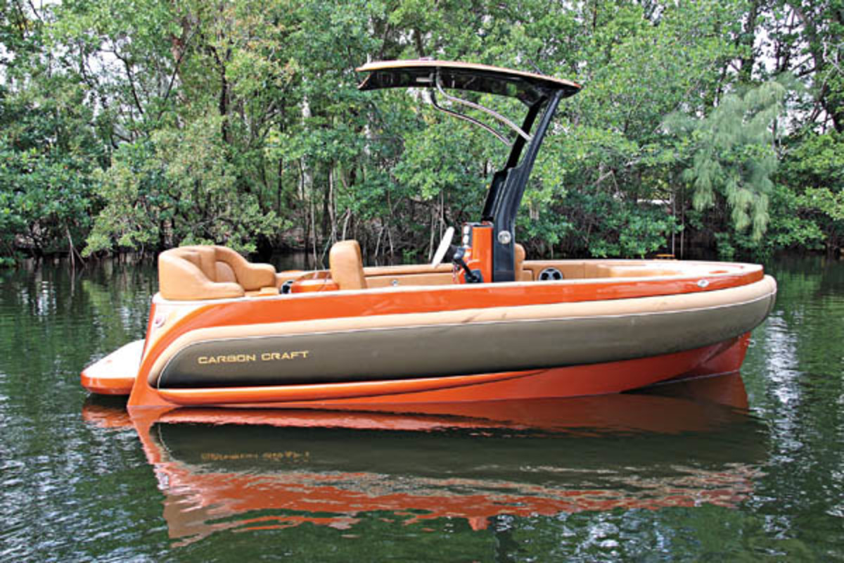 Carbon Craft's 130T tender