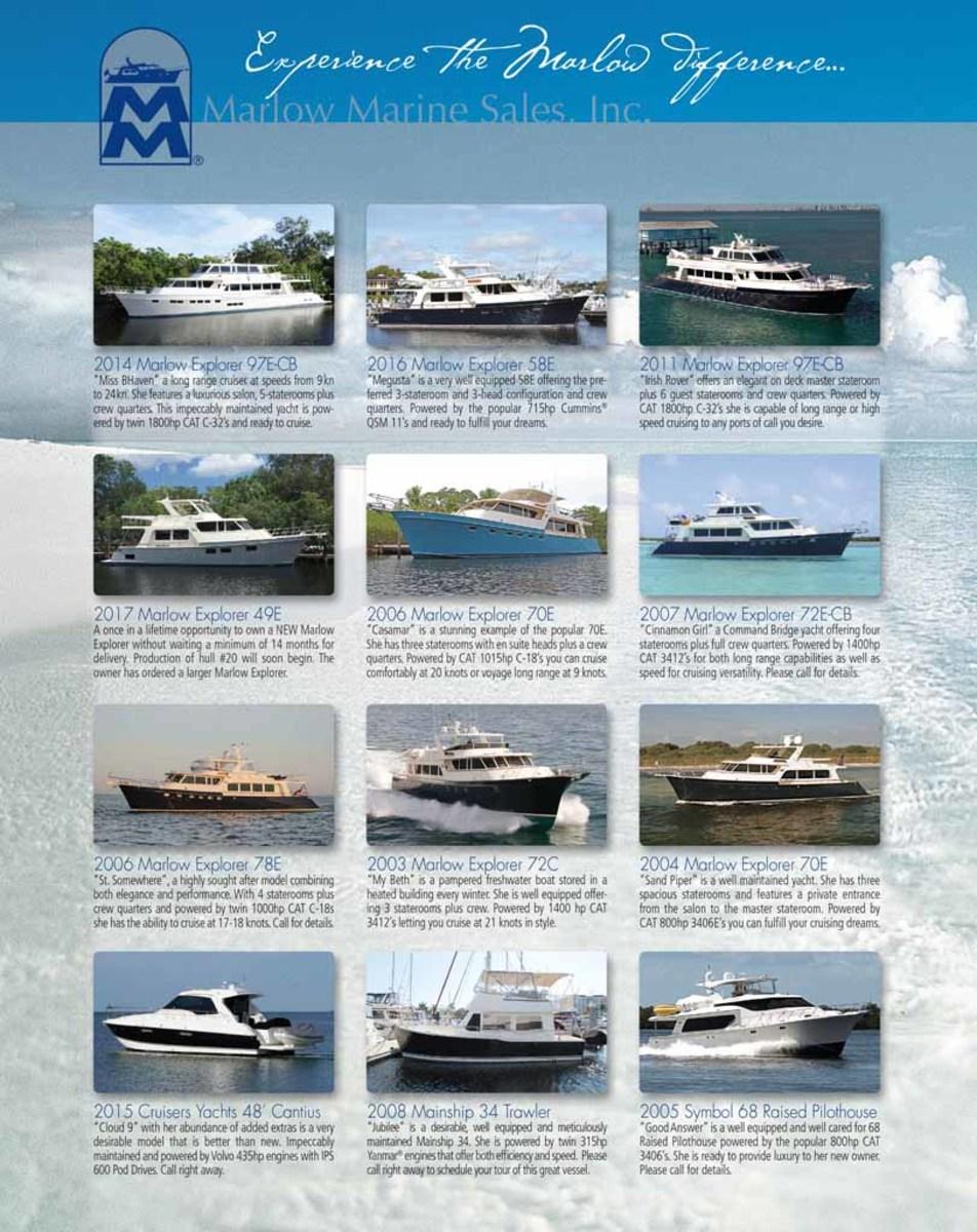 Marlow Marine Sales, Inc.