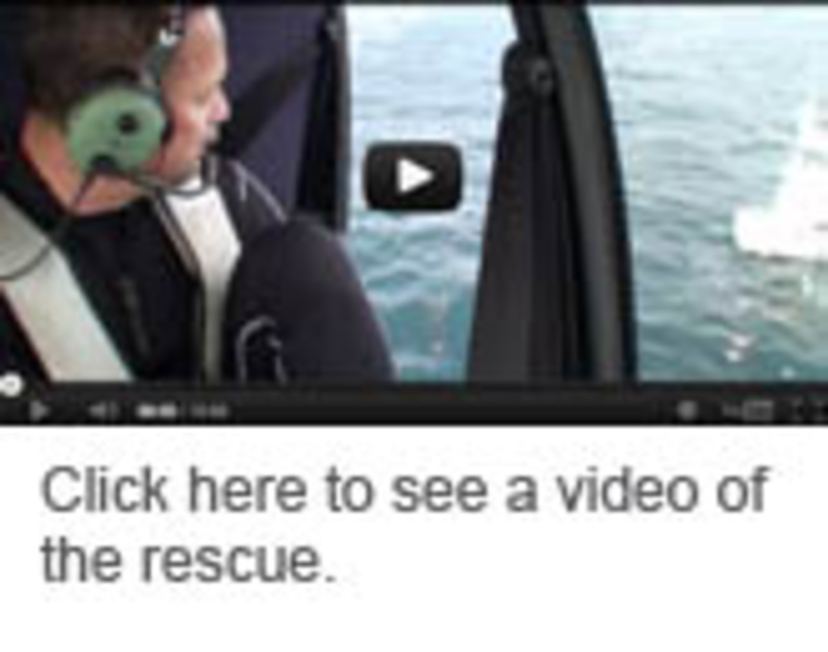 Click here to see a video of the yacht being rescued
