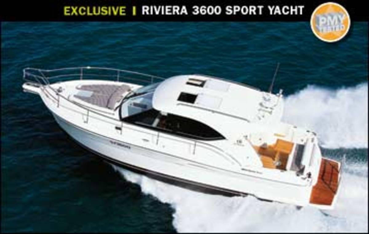 Riviera 3600 Sport Yacht - Power & Motoryacht