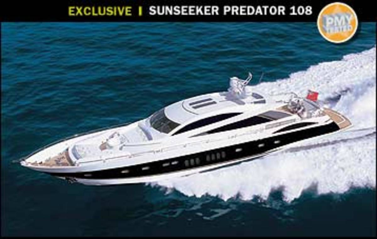 Sunseeker Predator 108 Power Amp Motoryacht