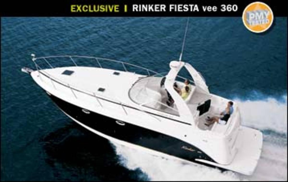 Volvo Share Price >> Rinker Fiesta Vee 360 - Power & Motoryacht