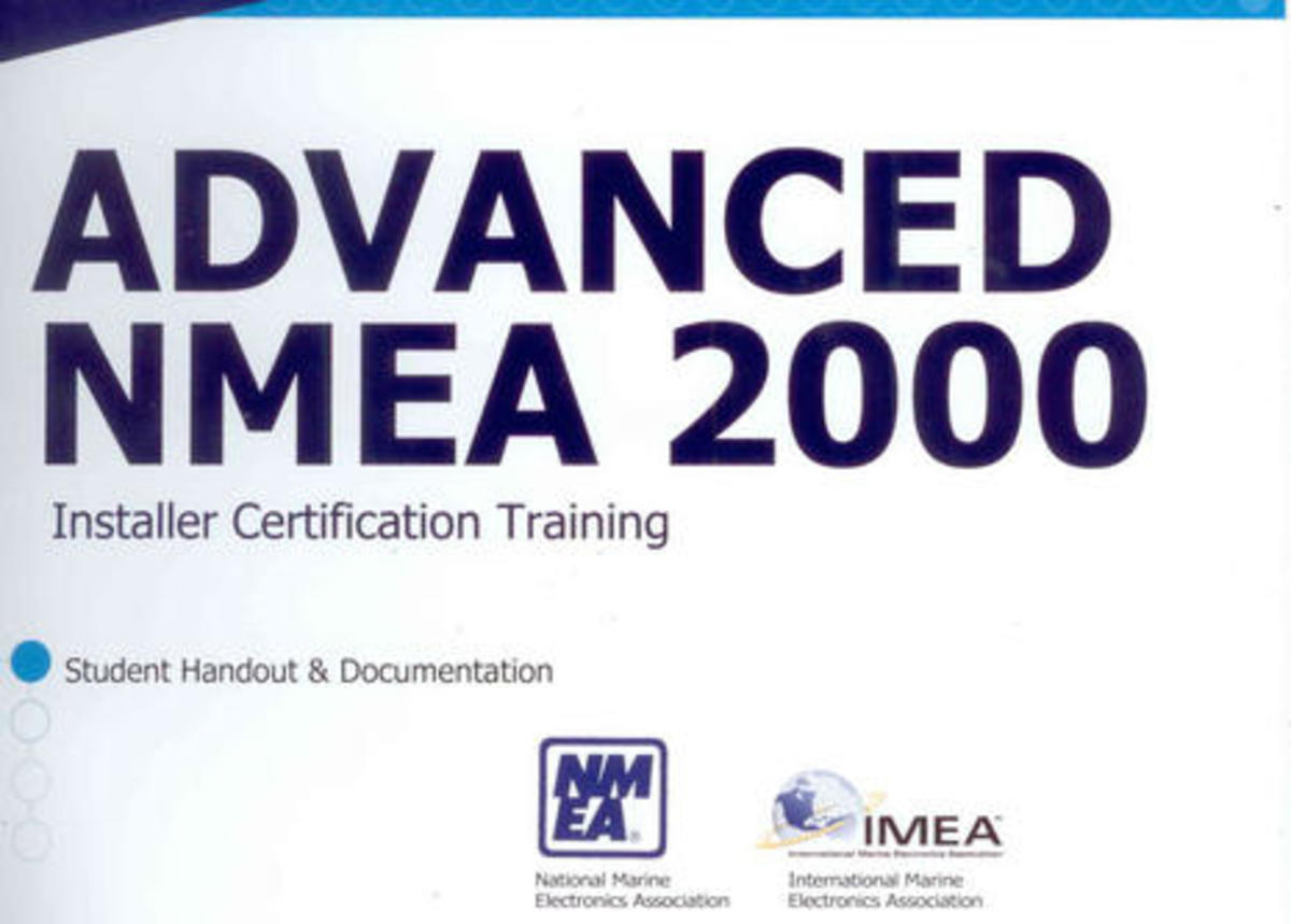 Nmea 2000 Realities The Pro Installer View Power Motoryacht Sunseeker Boat Wiring Diagram Advanced Student Hand Out Cover Courtesy