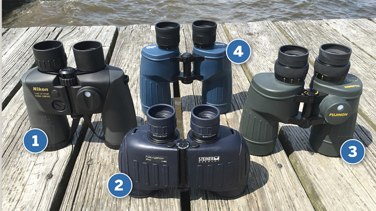 4 different marine binoculars