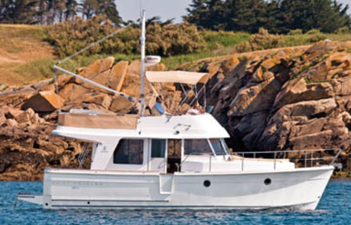 Beneteau Swift Trawler 34 on