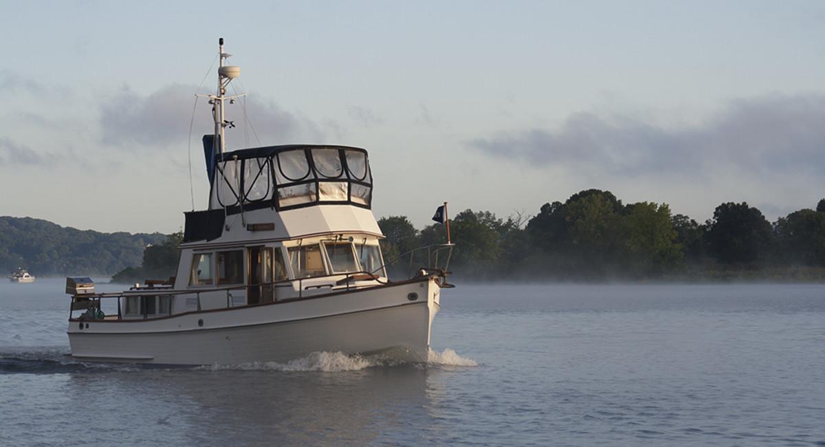 Grand Banks boat