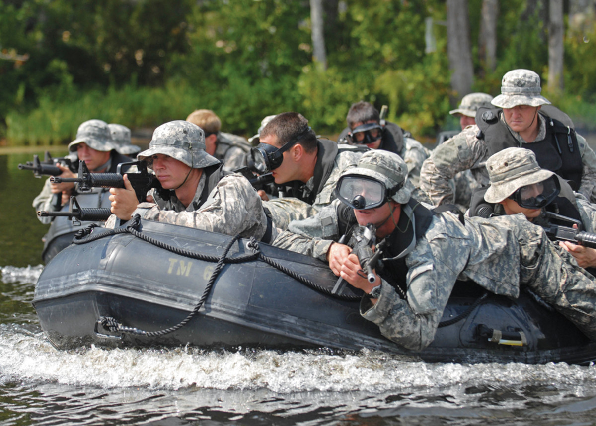 The 82nd Combat Aviation Brigade proves that Zodiac tenders can be tough.