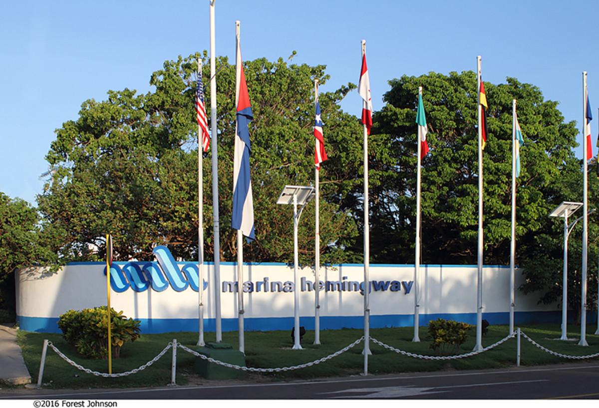 Hemmingway marina in Cuba