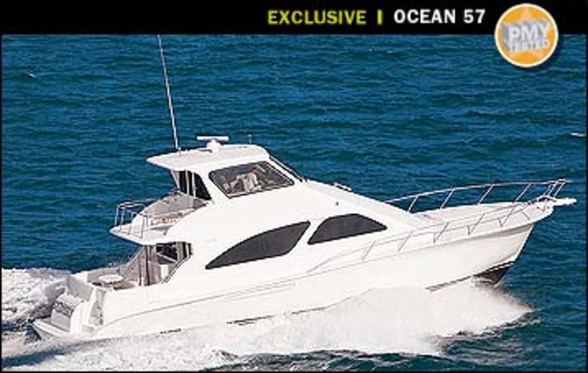 Ocean 57 Super Sport Power Motoryacht Standard Boat Wiring Diagram Bass Magazine