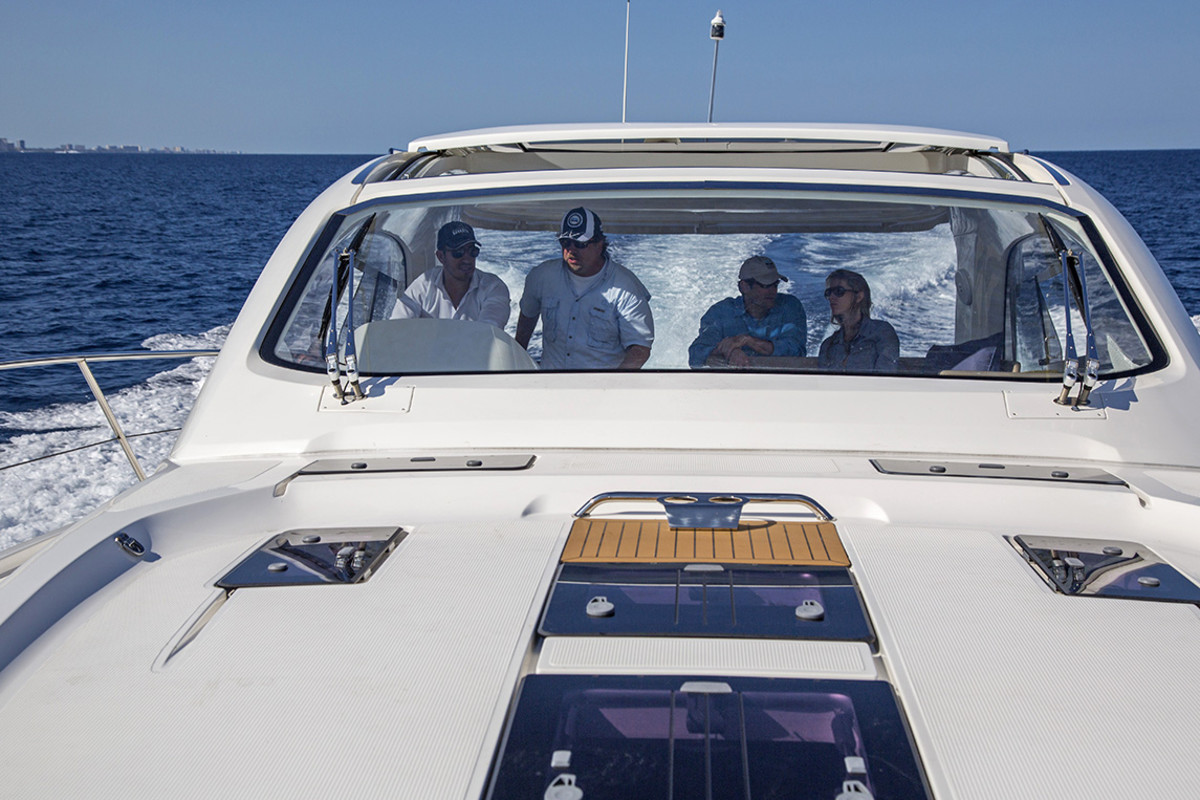 A Great Loop adventure on a Bavaria 44 Sport Yacht - Photo by Billy Black