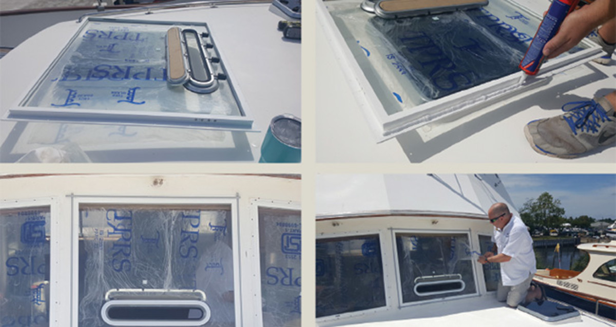 How to Replace the Windows on Your Boat - Power & Motoryacht