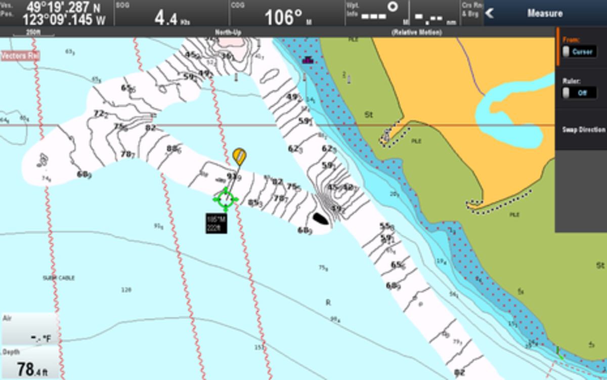 Raymarine Lighthouse r17 SonarChart Live Wide Swath