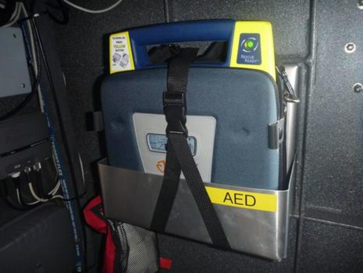 RCMSAR Station1 West Vancouver AED