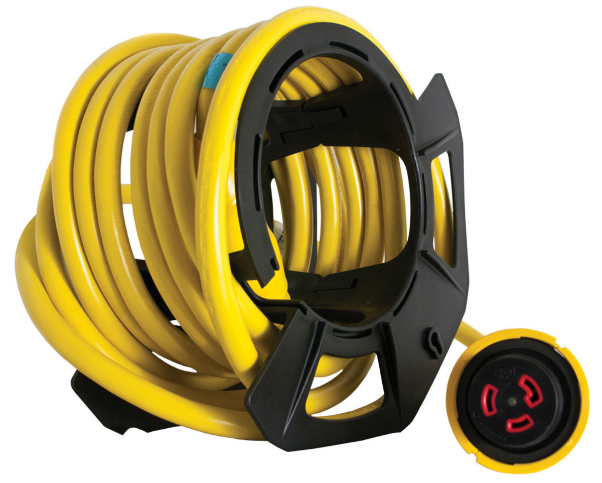 EEL (Easily Engaged Lock) Shore Power Cord
