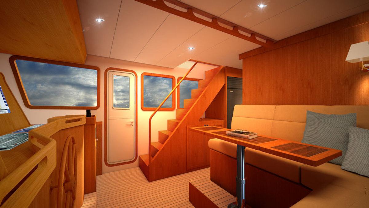 Kadey-Krogen 50 Open - Pilothouse