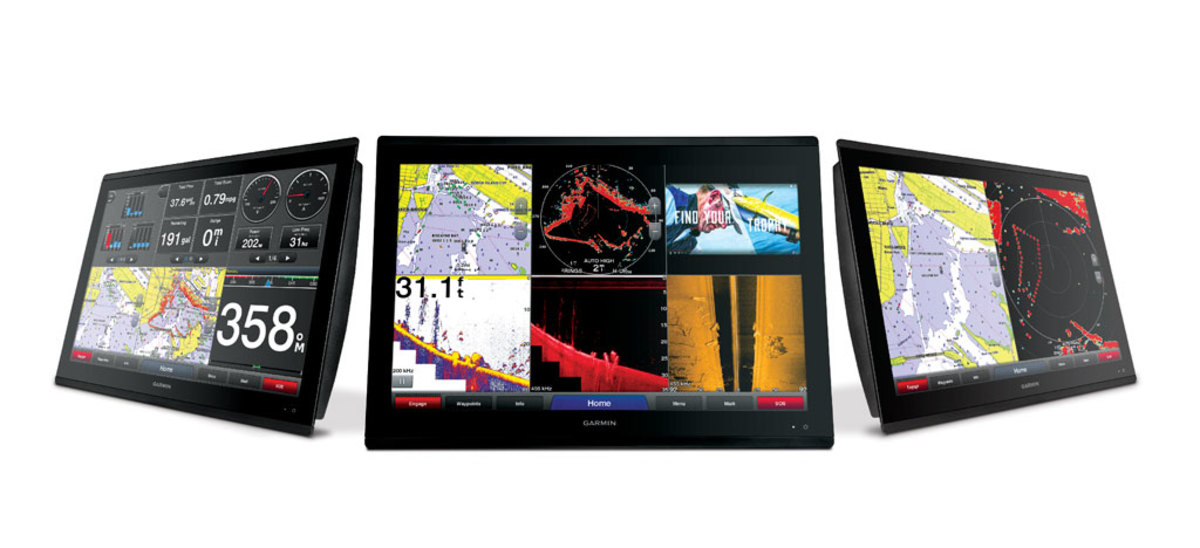 Garmin GPSMAP 84/8600 Multifunction Displays