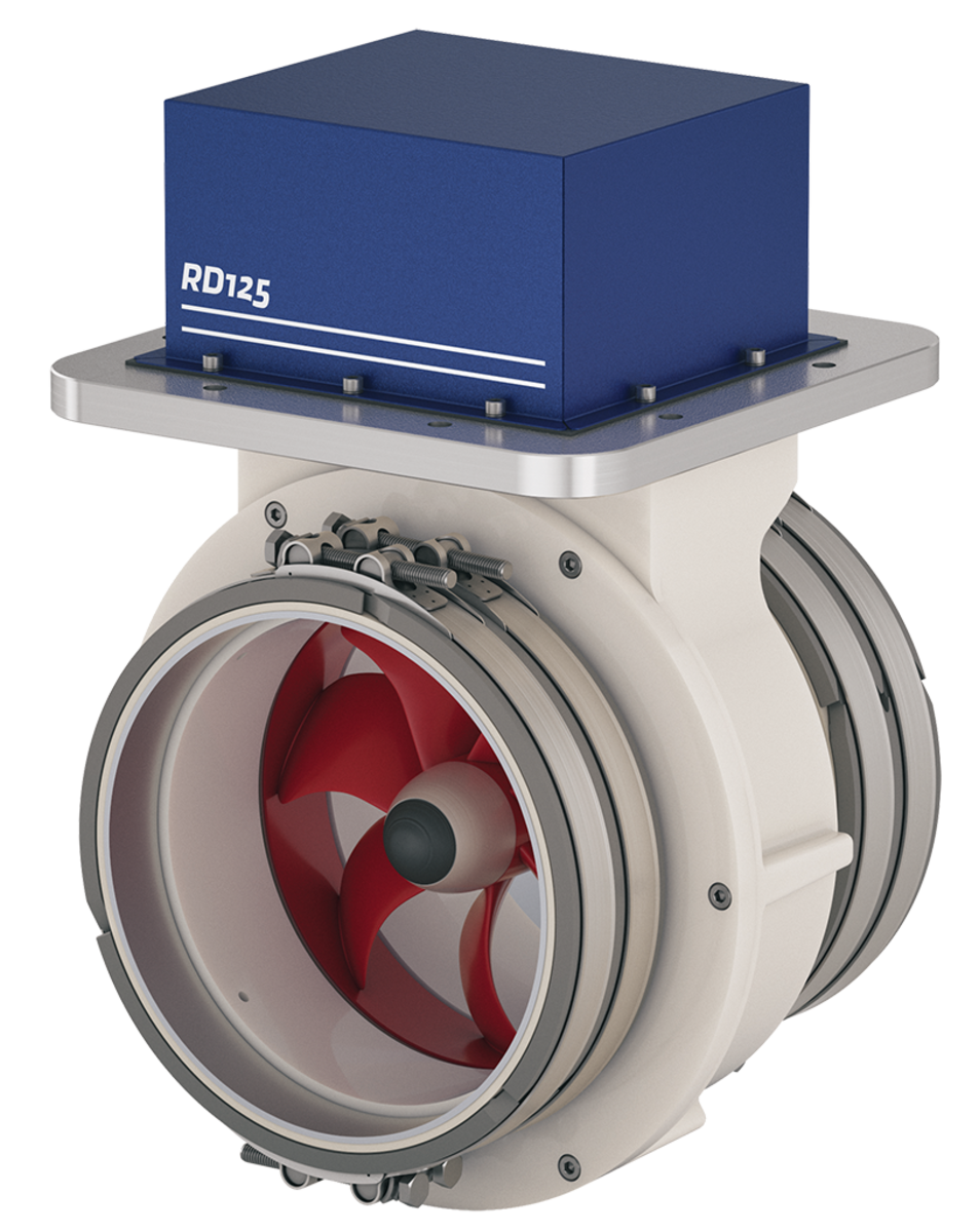 Rim Drive Bow Thruster from Vetus