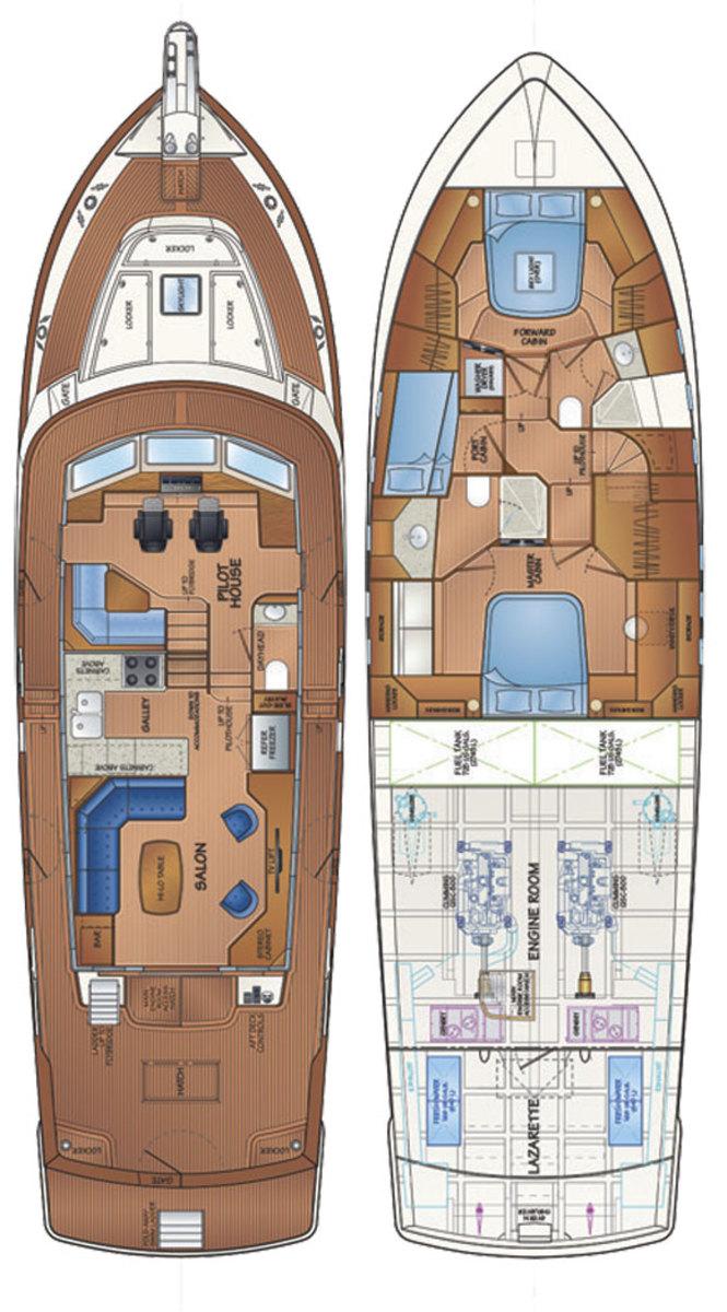 Fleming 58 deckplans
