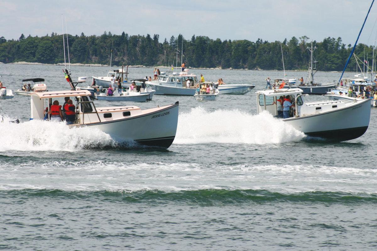 Lobster boat racing