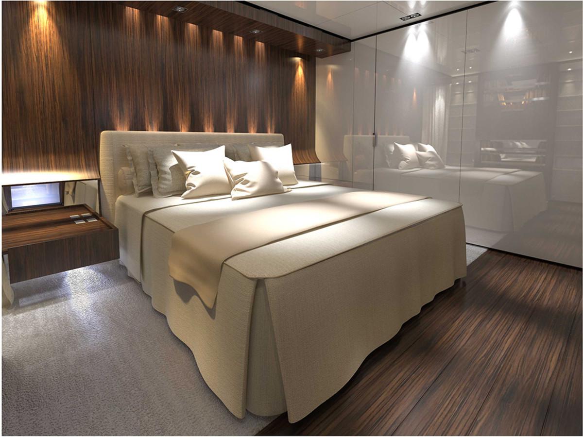 Baglietto 46M Fast - VIP cabin